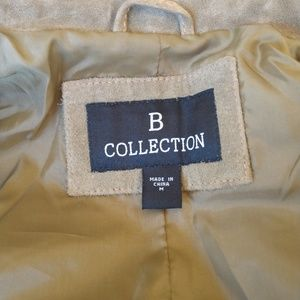 B Collection Jackets & Coats - B Collection Moss Green Leather Jacket